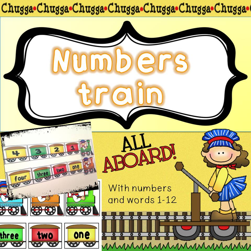 Numbers train